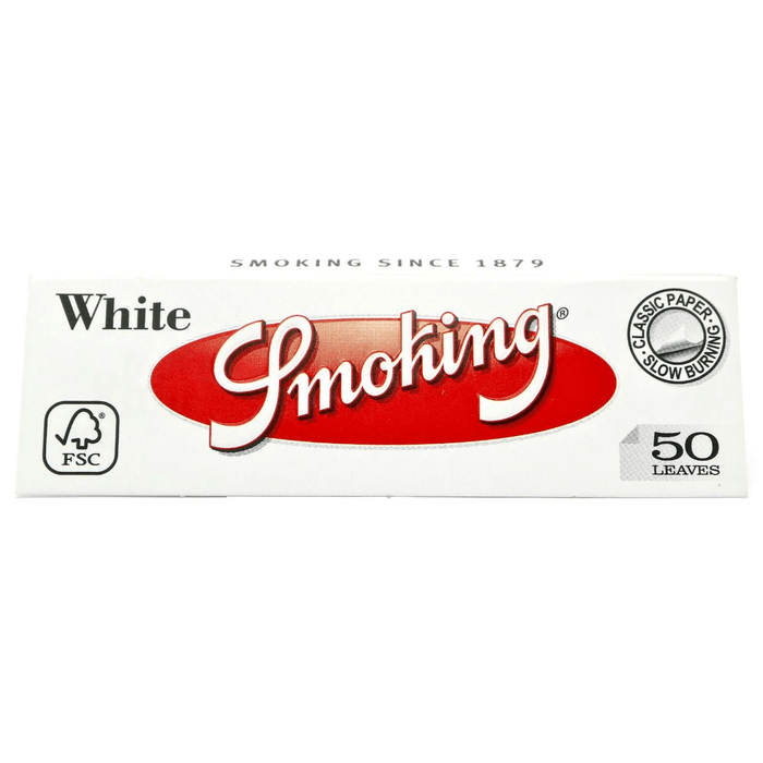 Smoking White 1-1/4 Papers
