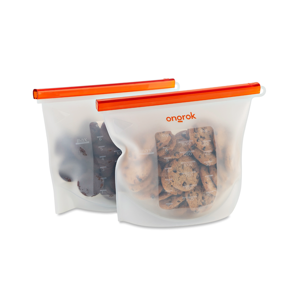 Ongrok - Silicone Storage & Decarboxylation Bags - 1500ml - 0