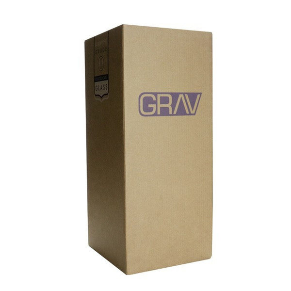 """Grav Labs - 8"""" Straight Glass Water Pipe - Default Title - 2"""