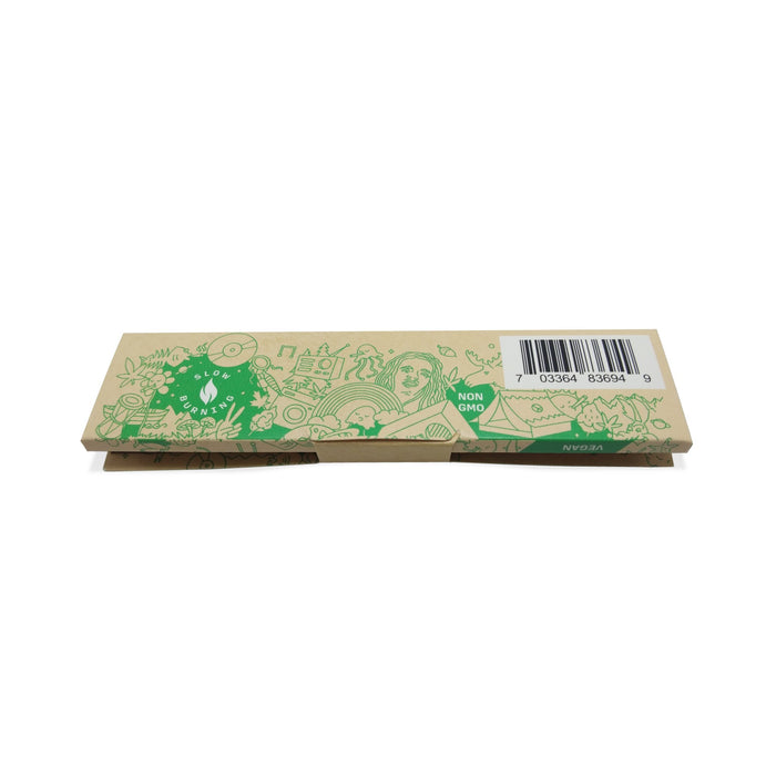 Bolt Unbleached Rolling Papers King Size Slim + Filter Tips (24 Booklets)