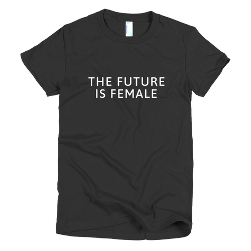 The Future is Female (Slim Fit T-Shirt Black)