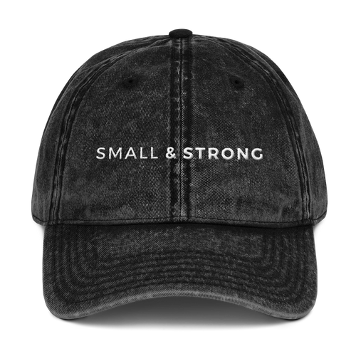 Small & Strong Vintage Hat