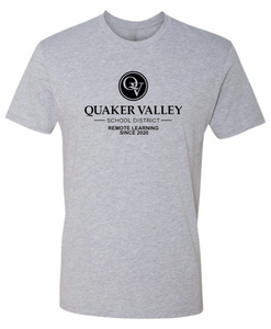 QUAKER VALLEY REMOTE LEARNING SINCE 2020 YOUTH & ADULT SHORT SLEEVE T-SHIRT