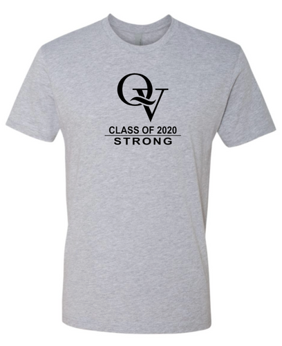 QV CLASS OF 2020 STRONG YOUTH & ADULT SHORT SLEEVE T-SHIRT