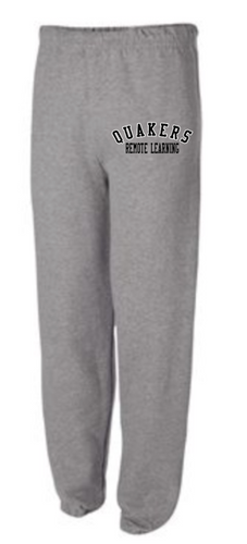 QUAKERS REMOTE LEARNING YOUTH & ADULT SWEATPANTS