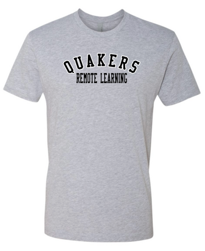QUAKERS REMOTE LEARNING YOUTH & ADULT SHORT SLEEVE T-SHIRT