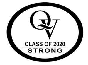 "QV CLASS OF 2020 STRONG 5"" STICKER / DECAL"