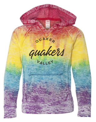 QUAKER VALLEY RAINBOW GIRLS SWEATSHIRT