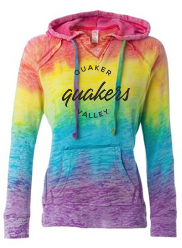 QUAKER VALLEY RAINBOW LADIES SWEATSHIRT