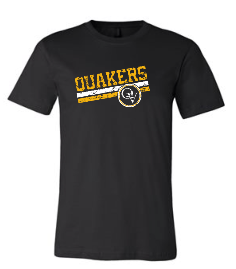 QUAKER VALLEY VINTAGE DESIGN YOUTH & ADULT SHORT SLEEVE T-SHIRT