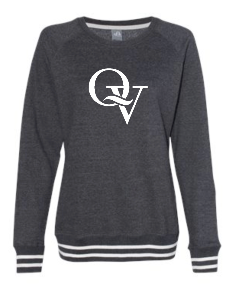 QUAKER VALLEY LADIES RELAY CREWNECK SWEATSHIRT