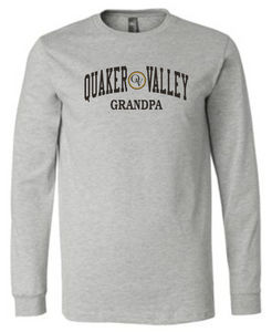 QUAKER VALLEY FAMILY ADULT LONG SLEEVE TEE - GRANDPA