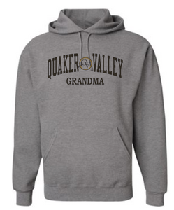 QUAKER VALLEY FAMILY GEAR ADULT HOODED SWEATSHIRT - GRANDMA
