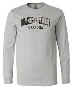 QUAKER VALLEY FAMILY ADULT LONG SLEEVE TEE - GRANDMA