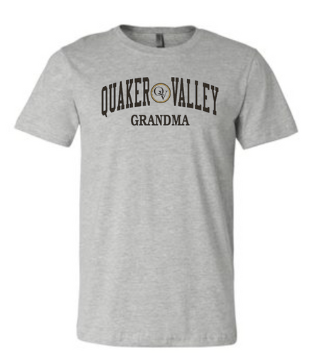 QUAKER VALLEY FAMILY SHORT SLEEVE T-SHIRT - GRANDMA
