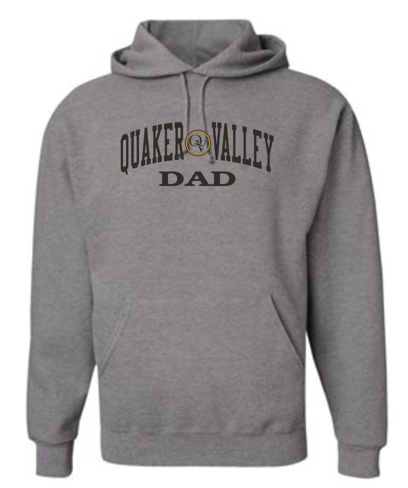 QUAKER VALLEY FAMILY GEAR ADULT HOODED SWEATSHIRT - DAD