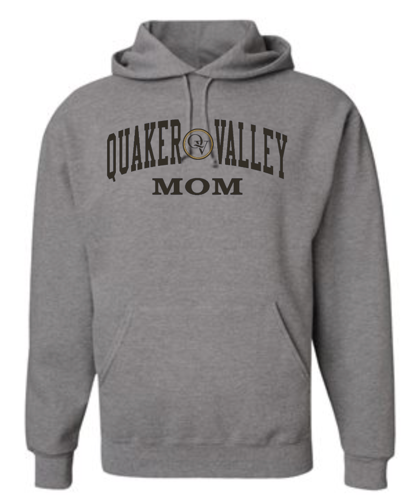 QUAKER VALLEY FAMILY GEAR ADULT HOODED SWEATSHIRT - MOM