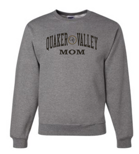 QUAKER VALLEY FAMILY GEAR ADULT CREW NECK SWEATSHIRT - MOM