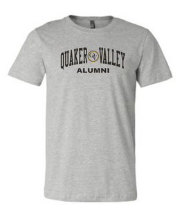 QUAKER VALLEY ALUMNI CIRCLE LOGO SHORT SLEEVE T-SHIRT