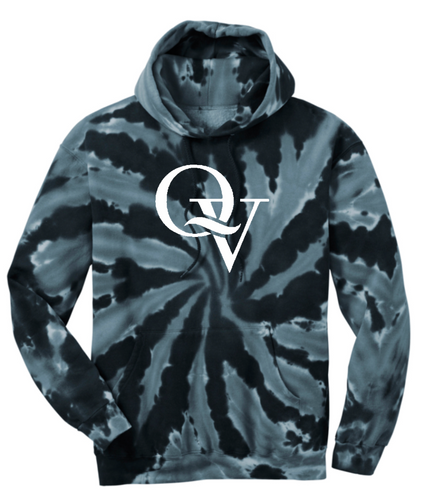QUAKER VALLEY TIE DYE YOUTH & ADULT HOODED SWEATSHIRT