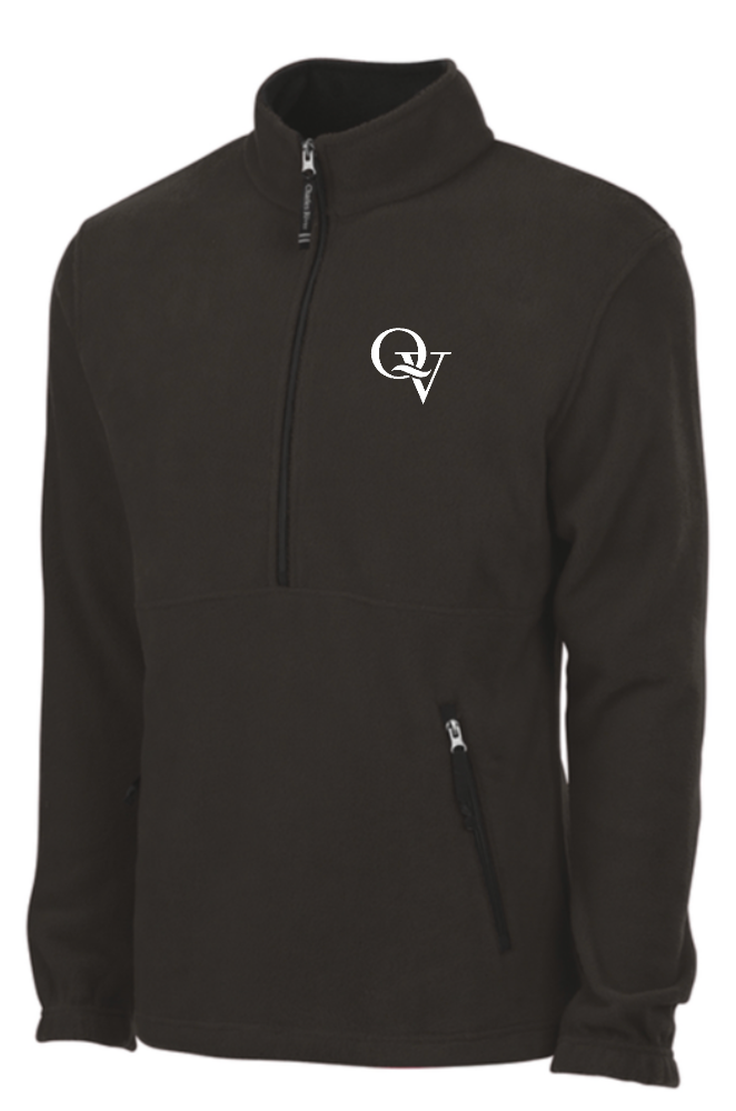QUAKER VALLEY EMBROIDERED YOUTH & ADULT ADIRONDACK FLEECE PULLOVER