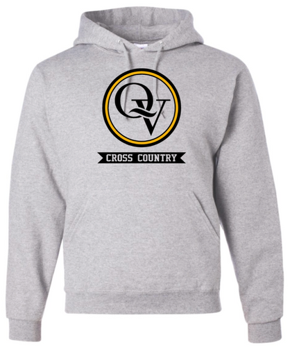 QUAKER VALLEY CROSS COUNTRY QVHS OFFICIAL TEAM HOODED SWEATSHIRT