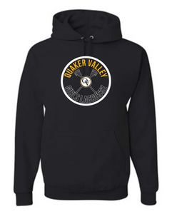 QVMS GIRLS LACROSSE OFFICIAL 2021 FUNDRAISER ITEM - YOUTH & ADULT HOODED SWEATSHIRT