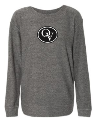 QUAKER VALLEY  GIRL'S &  WOMEN'S COZY CREW SWEATSHIRT