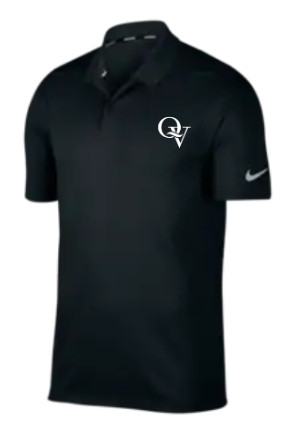 QUAKER VALLEY MEN'S EMBROIDERED NIKE DRY FIT VICTORY POLO