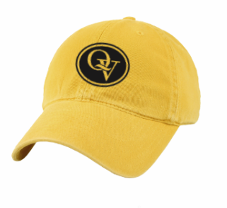 QUAKER VALLEY LEGACY BRAND YOUTH SIZE RELAXED TWILL HAT - GOLD OR BLACK