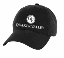 Load image into Gallery viewer, QUAKER VALLEY LEGACY BRAND RELAXED TWILL HAT - BLACK OR WHITE