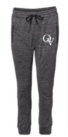 QUAKER VALLEY MEN'S PERFORMANCE FLEECE JOGGERS