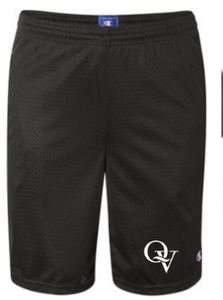 "QUAKER VALLEY MEN'S 9"" MESH SHORTS WITH POCKETS"