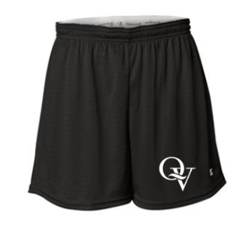 QUAKER VALLEY LADIES MESH SHORTS
