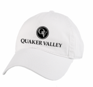 QUAKER VALLEY LEGACY BRAND RELAXED TWILL HAT - BLACK OR WHITE