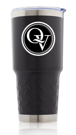QUAKER VALLEY 30oz. STAINLESS STEEL TRAVEL TUMBLER