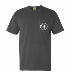 QUAKER VALLEY SHORT SLEEVE GARMENT-DYED HEAVYWEIGHT POCKET TEE