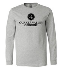 Load image into Gallery viewer, OSBORNE YOUTH & ADULT LONG SLEEVE TEE - BLACK OR ATHLETIC GREY