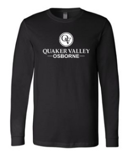 OSBORNE YOUTH & ADULT LONG SLEEVE TEE - BLACK OR ATHLETIC GREY
