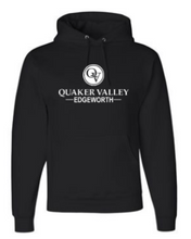 Load image into Gallery viewer, EDGEWORTH YOUTH & ADULT HOODED SWEATSHIRT - BLACK OR OXFORD GRAY