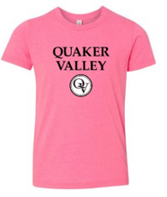 Load image into Gallery viewer, QUAKER VALLEY BREAST CANCER AWARENESS YOUTH & ADULT SHORT SLEEVE T-SHIRT - PICK 1 OF 2 DESIGNS