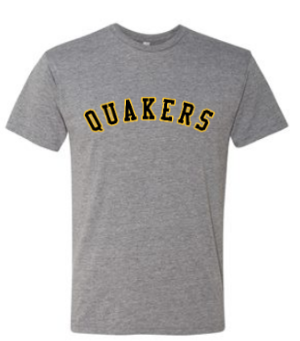QUAKER VALLEY YOUTH & ADULT SHORT SLEEVE TRI-BLEND TSHIRT