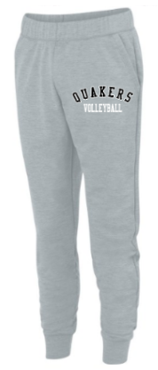 QUAKER VALLEY VOLLEYBALL YOUTH & ADULT UNISEX FLEECE JOGGERS