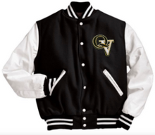 Load image into Gallery viewer, QUAKER VALLEY MEN'S EMBROIDERED VARSITY LETTERMAN JACKET - CUSTOM