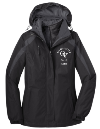 QUAKER VALLEY CHEER 3-IN-1 JACKET
