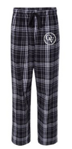 QUAKER VALLEY YOUTH & ADULT PLAID FLANNEL PANTS WITH POCKETS