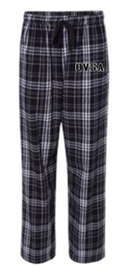 QVSA SWIMMING & DIVING: YOUTH & ADULT PLAID FLANNEL PANTS WITH POCKETS
