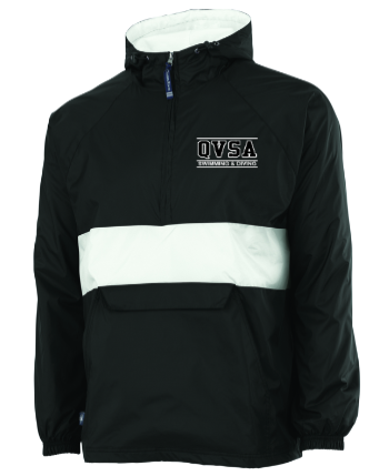 QVSA SWIMMING & DIVING: CLASSIC PULLOVER - YOUTH & ADULT WIND & WATER RESISTANT PULLOVER