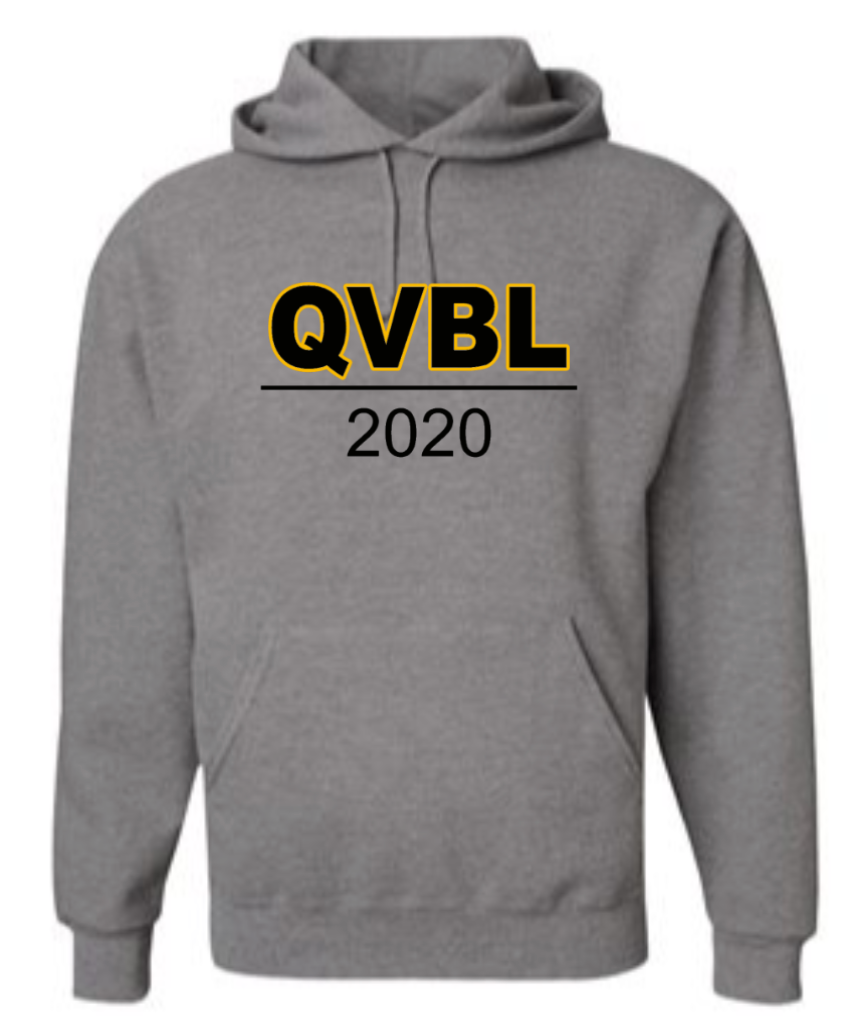 QUAKER VALLEY BOYS LACROSSE YOUTH & ADULT HOODED SWEATSHIRT - QVBL DESIGN
