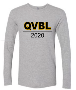 QUAKER VALLEY BOYS LACROSSE YOUTH & ADULT LONG SLEEVE TEE - QVBL DESIGN